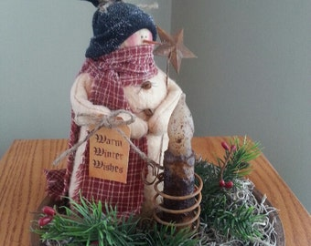 Chilly the Primitive Snowman