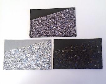 Handmade Glitter Card Holder