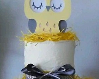The Perfect Owl Cake Topper