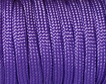 100 Feet Of Purple 550 Paracord/Parachute Cord Lanyard Mil Spec Type III 7 Strand Core#111
