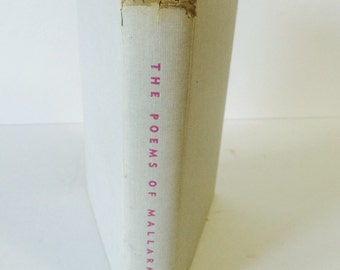 The Poems of Mallarme Handcover Book/French Poetry