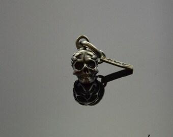 Pendant Victorius Skull Silver