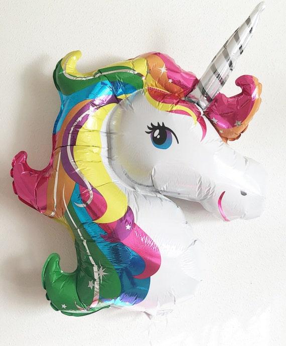 Unicorn Balloon Unicorn Party Unicorn Decor Jumbo Balloons