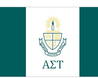 Alpha sigma Tau Flag - 3' X 5'  Officially Approved