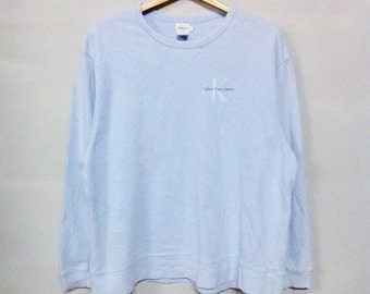 Vintage Calvin Klein Sweater One Point Style Rare