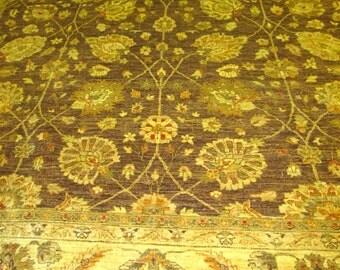 Vintage Sultanabad Design Pashaware Oriental Rug.10x14.