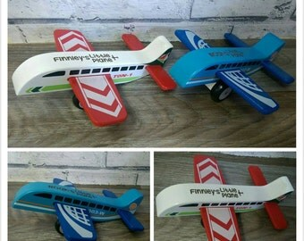 Wooden Toy Plane Personalised
