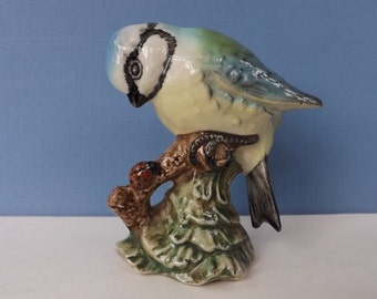 "BESWICK BLUE TIT. Beswick Bird Figurine.  Beswick Blue Tit Model No: 992. Made in England. 1943-1973. 2.5"" High. Excellent Condition"