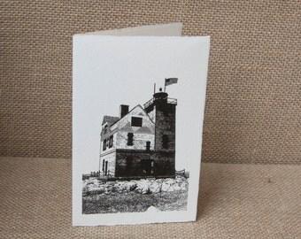 Round Island Lighthouse Notecard Set