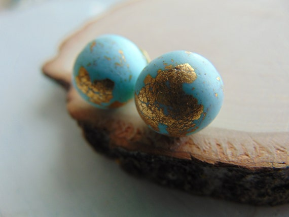 Polymer Clay stup Earrings