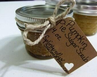 Organic Scrub/Essential Oil Scrub/Handmade Scrub/Pumpkin Pie/Natural/Coconut Oil Scrub/Sugar Scrub/Moisturizing/Aromatherapy/Exfoliating