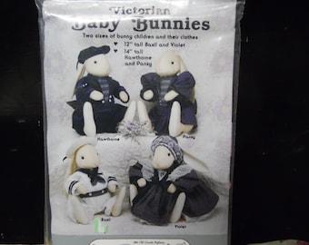 Victorian Baby Bunnies Patterns