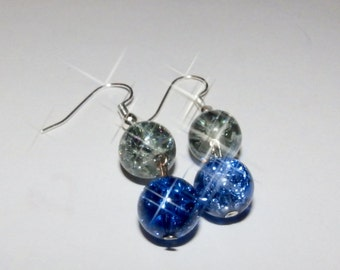 Sky shimmer earrings