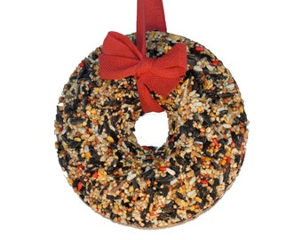Winter Wreath - birdseed wreath