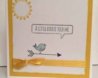 A little birdie told me....