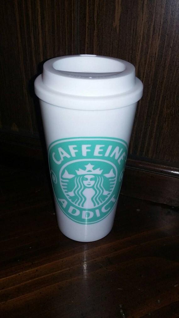16 oz - Travel Mug - White