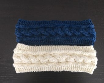 Cable Knit Headbands *Free Shipping*