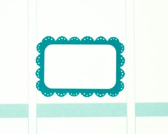 18 Half Boxes | Planner Stickers designed for use with the Erin Condren Life Planner | 0939