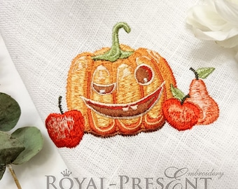 Machine Embroidery Design AUTUMN PUMPKIN