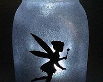 Fairy in a Jar Night Light - Carolyn