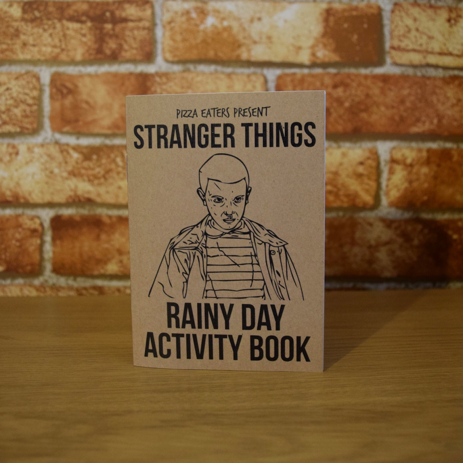 Stranger Things Rainy Day Colouring