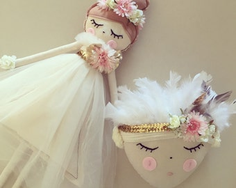 Bespoke dolls, customised just for you. All handmade and designed for any little one XO