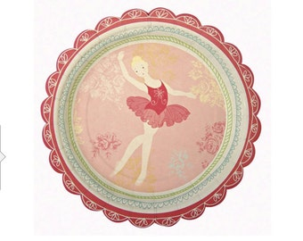 The Ballet Little Dancers Plates