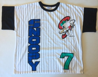 Items Similar To Snoopy Playing Baseball Hand Painted Wall