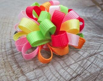 Ribbon Hair Clip ~1 pieces #100738