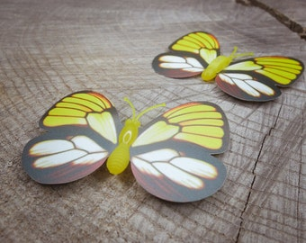Butterfly Magnet ~2 pieces #100877