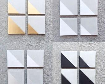 Square Concrete Coasters