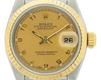 Ladies Rolex Datejust 2-Tone