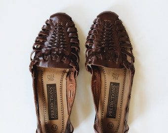 Vintage Leather Flats - Size 7.5