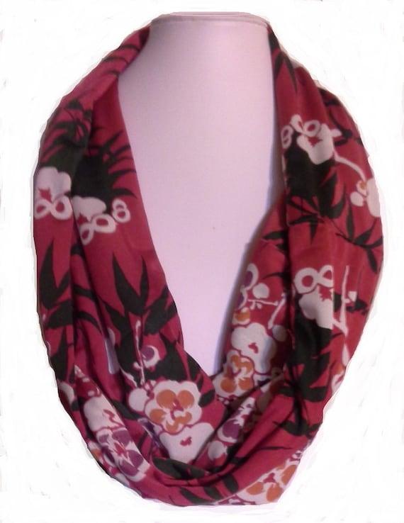 Travel scarf hidden zip pocket for Travel scarf