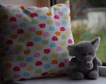 Little Elephants Pillow