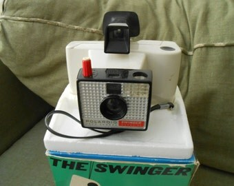 Vintage Polaroid Black and white camera model 20 mint in box