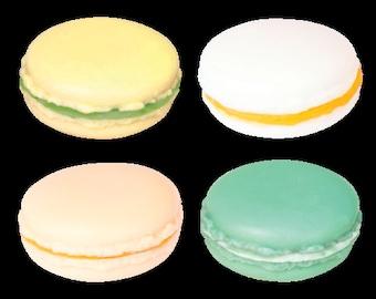 Macaron 4 pieces set Yellow