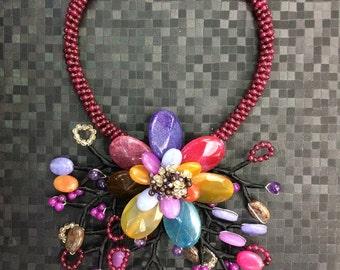 Multi flower stone