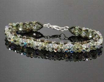 Swarovski and Czech crystal bracelet