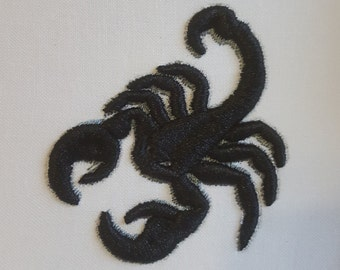 Scorpion Puff embroidery design / Machine embroidery / Puff technique / 3D embroidery