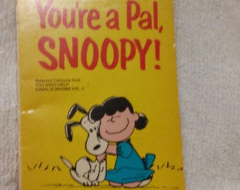 Peanuts You're A Pal Snoopy Book