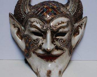"Masquerade Mask ""The Devil"" - Venetian Mask Devil mask V32"