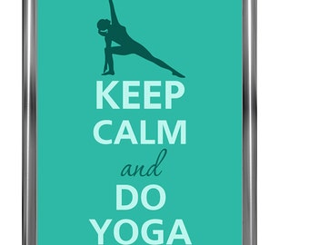 Keep calm and do yoga - Art Print - Keep Calm Art -  Prints - Posters - Motivational quotes - Poster Keep