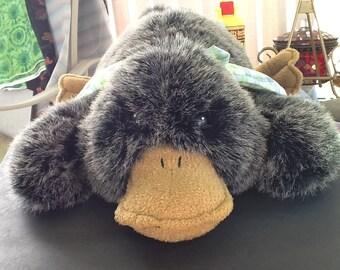 PLATYPUS Stuffed Toy~ Duckbill Platypus~Australian Mammal~Plush Animal~Rare Toy~Animal Lovers~Unusual Animal~New Condition~Large Size~CUTE~