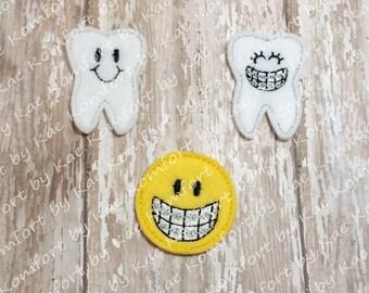 Orthodontist DMK Medical Felties- (set of 4) UN-CUT
