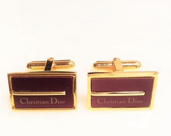 Vintage Christian Dior  Cuff links
