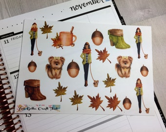 Planner Stickers-One Autumn Afternoon Decorative Stickers