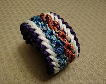 Orbital chains Paracord bracelet