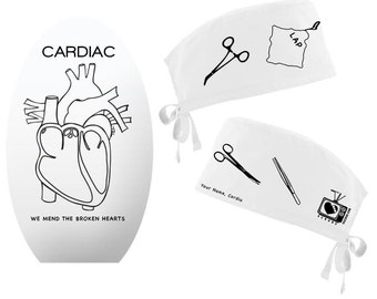 Cardiac Scrub Hat