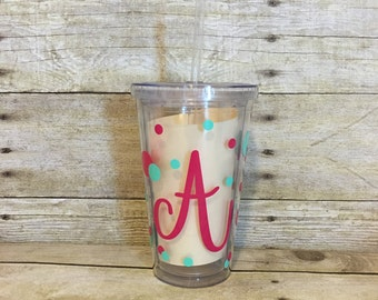 Personalized Tumbler | Acrylic Tumbler | Personalized Cup | Double Wall Insulated Tumbler | Custom Gift